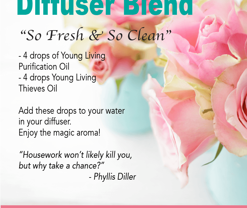 So Clean and Fresh Diffuser Blend