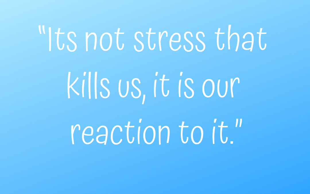 Stress – how do you react to it?